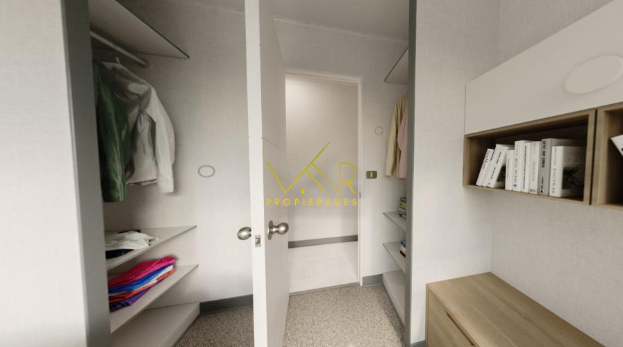 Closet segundo dormitorio