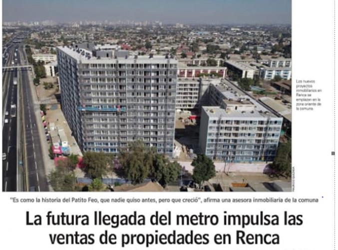 Imagen Proyeccion del Metro