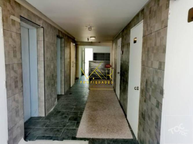 Pasillo y ascensores